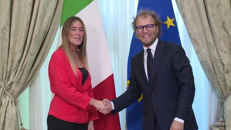 Ministro Lotti Boschi