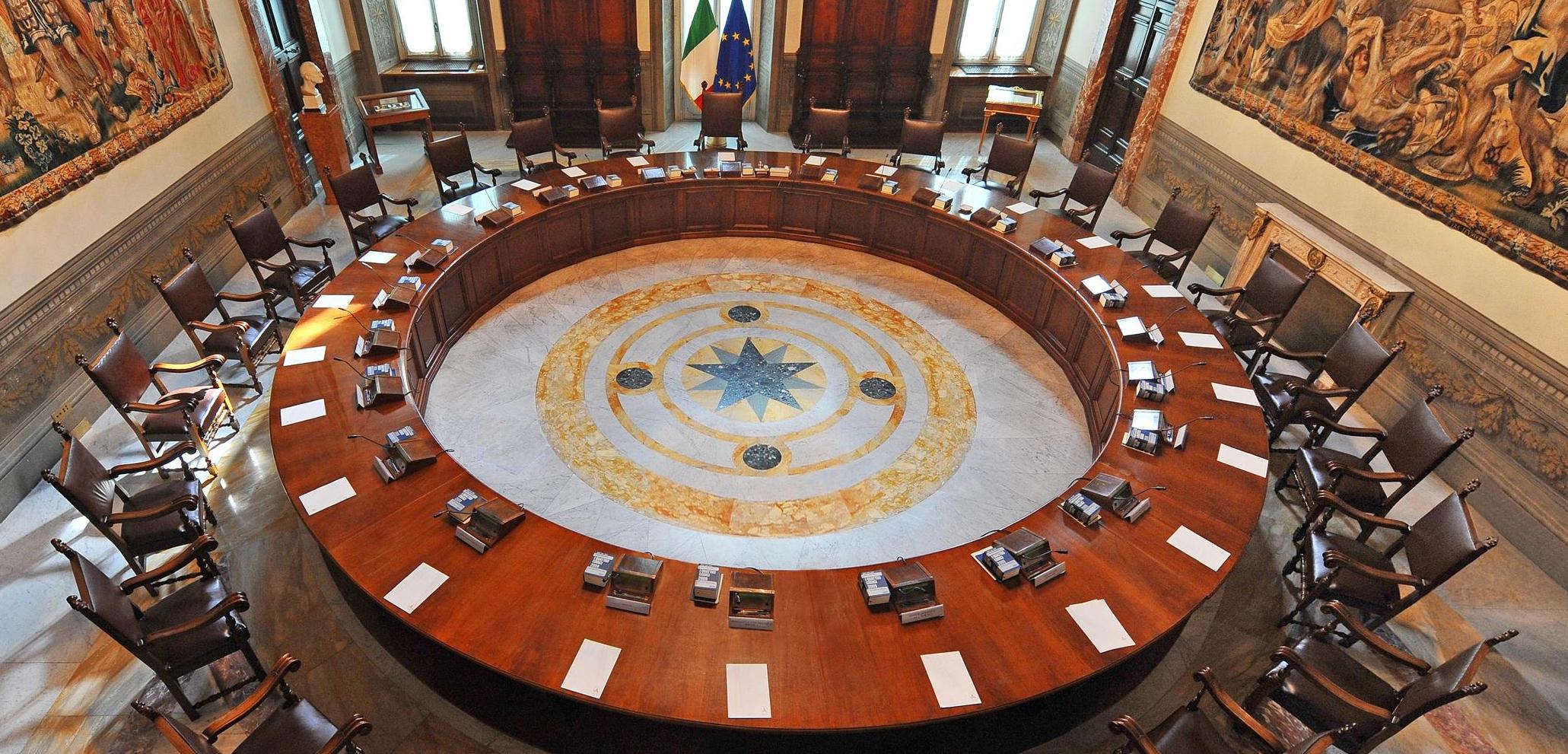 Sala del Consiglio dei Ministri