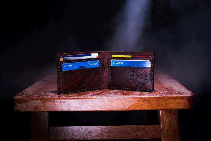 Portafogli con carte di credito