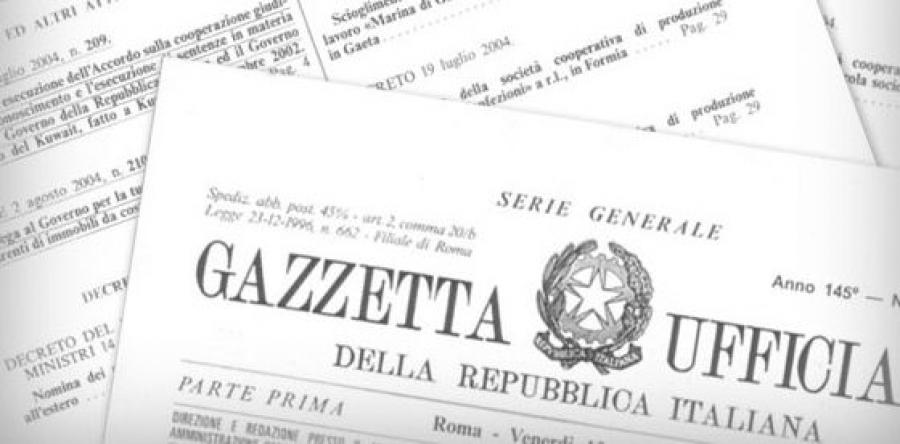 La Gazzetta Ufficiale