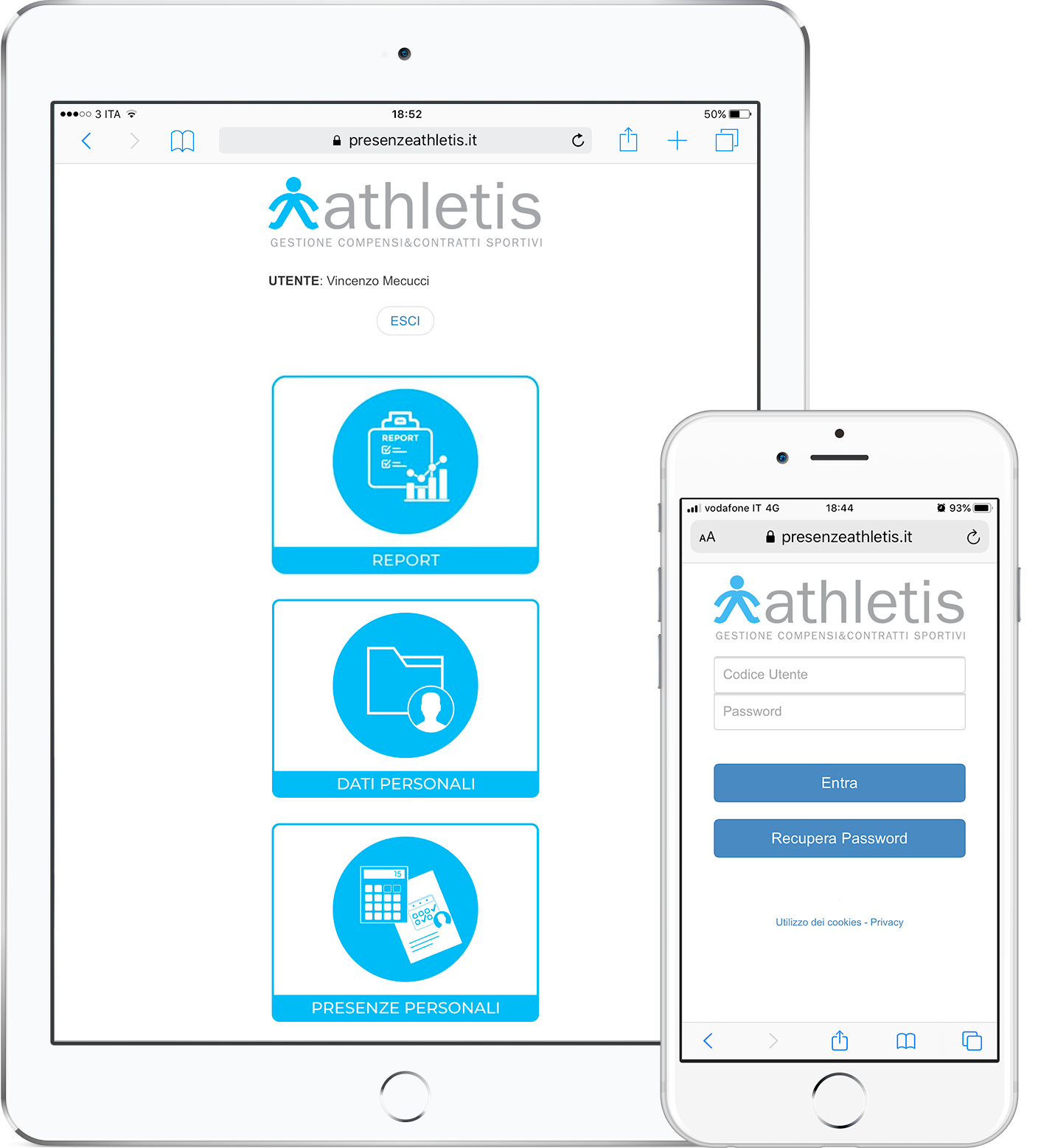 iPad o iPhone per registrare le presenze in cloud